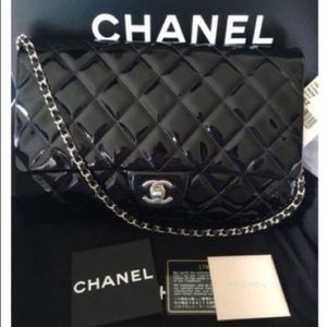 Chanel Jumbo Clutch with Chain Crossbody Bag
